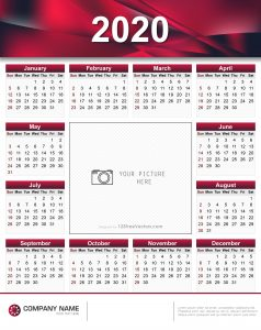 2020 calendar eps and cdr