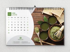 Desk Calendar Design 2020 free
