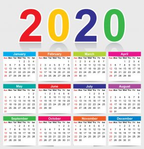 calendar design 2020 psd free download