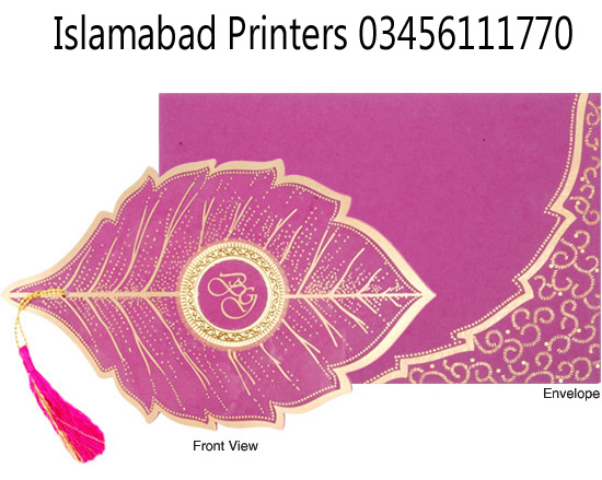 Wedding Cards Designs With Price Islamabad Printers Best